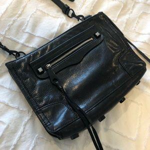 Black Rebecca minkoff cross-shoulder bag!
